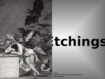 Etchings: A Focus on Social Issues through the Eyes of Goya, Durer and Rembrandt