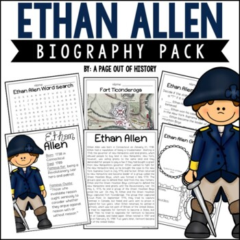 Ethan Allen Biography Pack (Revolutionary Americans)