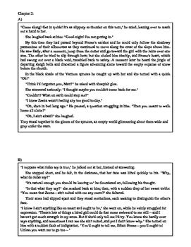Ethan Frome: Close Reading Chapters 1 & 2 (Gender Role Study)
