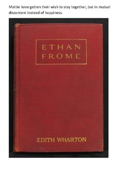 Ethan Frome Handout