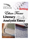 Ethan Frome Literary Analysis Essay