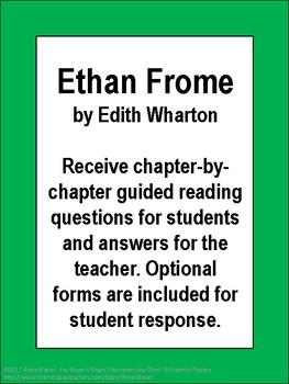 Ethan Frome Novel Study