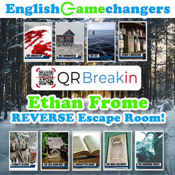 Ethan Frome REVERSE Escape Room! Break IN to a New Unit with QR Codes!