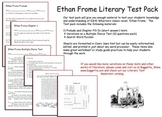 Ethan Frome Test Pack