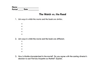 Ethan Frome: The Watch vs. the Read