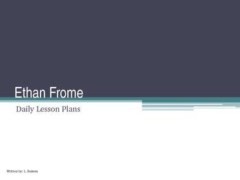 Ethan Frome Unit Lesson Plan