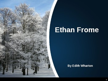 ethan frome by edith wharton by life long literature lover tpt ethan frome by edith wharton