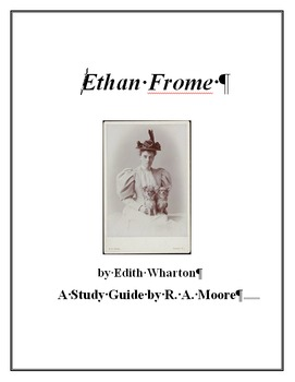 """""""Ethan Frome"""" by Edith Wharton Study Guide"""