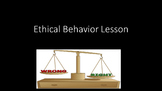 Ethical Behavior Lesson