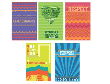 Ethical Behavior Poster Series