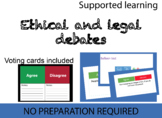Ethical and Legal debates for Computer Science
