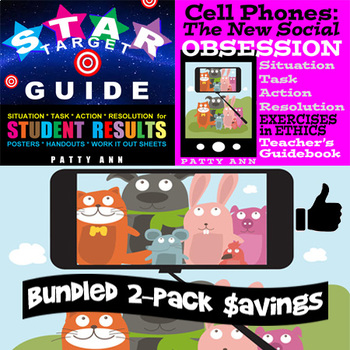 Ethics & Civics: CELL PHONES > The New Social OBSESSION ~ Guidebook + Activities