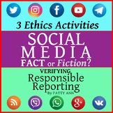Ethics Civics: Verify SOCIAL MEDIA FACTs or Fiction? Activity Search to Report