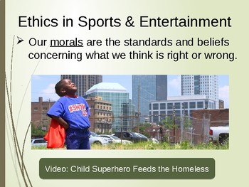 Ethics and Social Responsibility in Sports & Entertainment