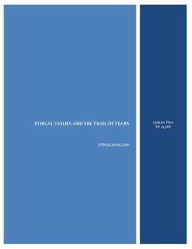 Ethics and the Trail of Tears