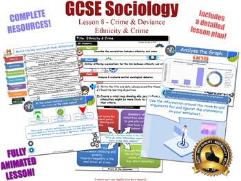 Ethnicity, Crime & Criminality - Crime & Deviance L8/20 (GCSE Sociology)