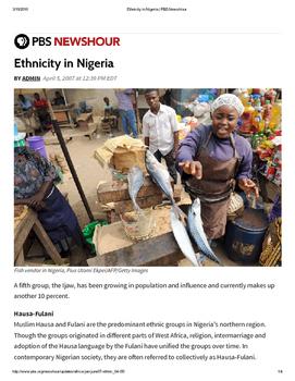 Ethnicity in Nigeria