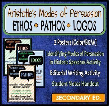 Ethos, Logos, Pathos (Aristotle's Modes of Persuasion)