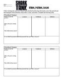 Ethos, Logos, Pathos - Shark Tank Activity Sheet