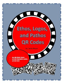 Ethos, Logos, and Pathos QR Code Activity