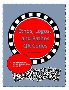 Ethos, Logos, and Pathos QR Code Activity