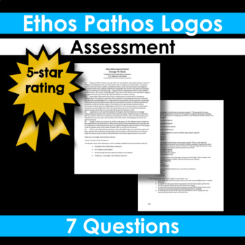 Ethos, Pathos, Logos Assessment