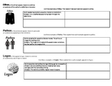 Ethos, Pathos, Logos Graphic Organizer Worksheet