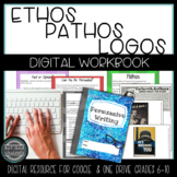 Ethos, Pathos, Logos in Persuasive Argumentative Writing {Digital Resource}