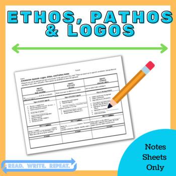 Ethos, Pathos, Logos Powerpoint Notes [PDF]