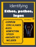 Identifying Ethos Pathos Logos: Argument Practice