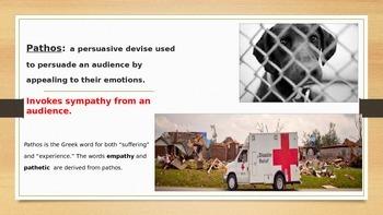 Ethos, Pathos, Logos  Rhetorical Devices