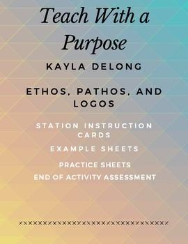 Ethos, Pathos, Logos Station work