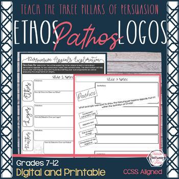 Ethos, Pathos, Logos- The Three Pillars of Persuasion