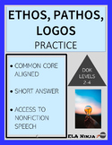 Ethos Pathos Logos Practice: Argument Practice