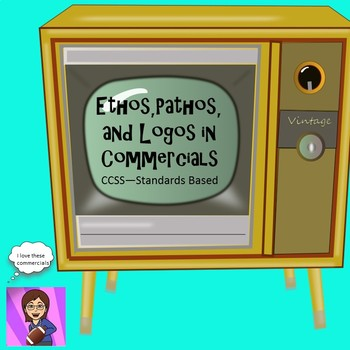 commercials with ethos pathos and logos