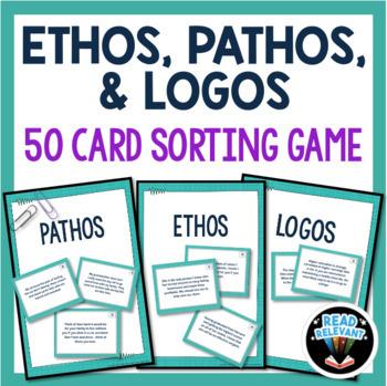 Ethos Pathos Logos Fun Activities & Worksheets | TpT