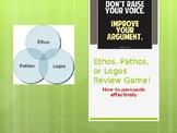 Ethos, Pathos, or Logos Game with advertisements (Rhetoric