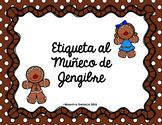 Etiqueta al Muñeco de Jengibre