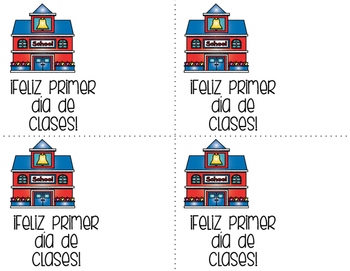 Etiqueta para lápiz (Pencil gift tag SPANISH)