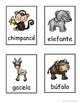 Etiqueta y escribe: Animales