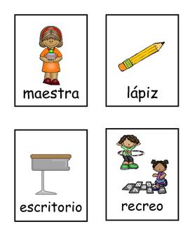 Etiqueta y escribe: La escuela