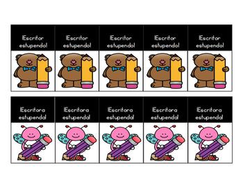 Etiquetas de logros (Brag Tags SPANISH)