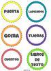 Etiquetas escolares! OVER 50 LABELS! SPANISH