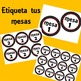 Etiquetas para tu salón - Polka dots