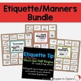 Etiquette/Manners Bundle