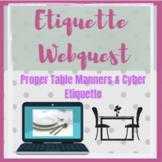 Etiquette Webquest Student Activity
