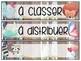 Étiquettes chic-rustique modifiables pour la classe