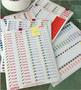 Étiquettes pour cahier de planification (400)