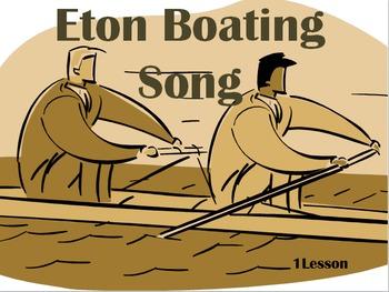 'Eton Boating Song' William Johnson Cory
