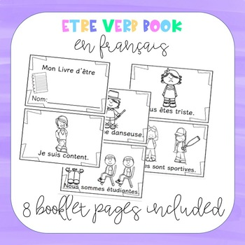 être book (French Verb Practice)